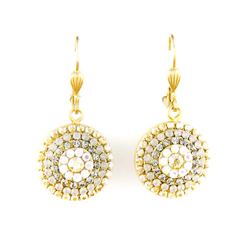 Clear Swarovski Crystal Earrings - Tinnin Imports