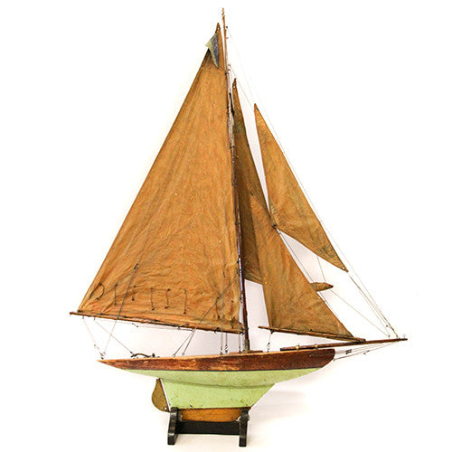 Antique English Sailboat