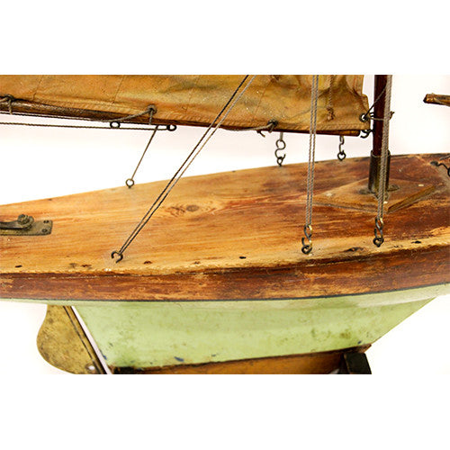 Antique English Sailboat - Tinnin Imports