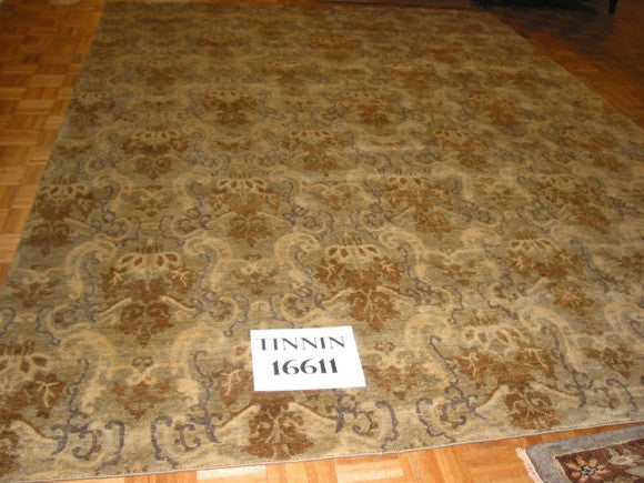 European Style Wool Rug handknotted in India
