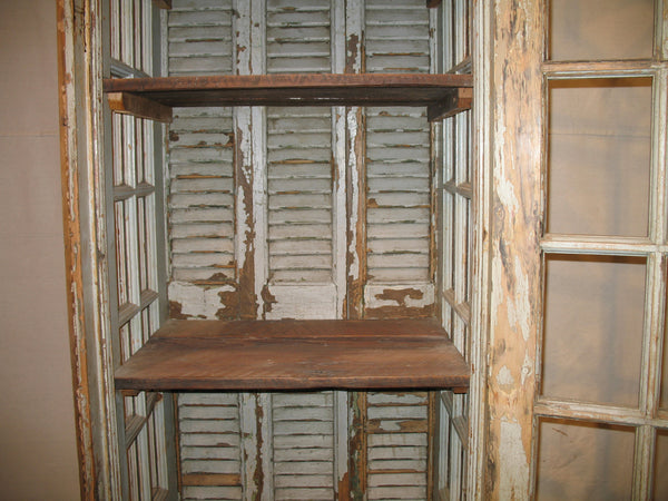 Old Window Cabinet - Tinnin Imports