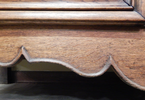 Oak French Louis XV Deux Corps - Tinnin Imports