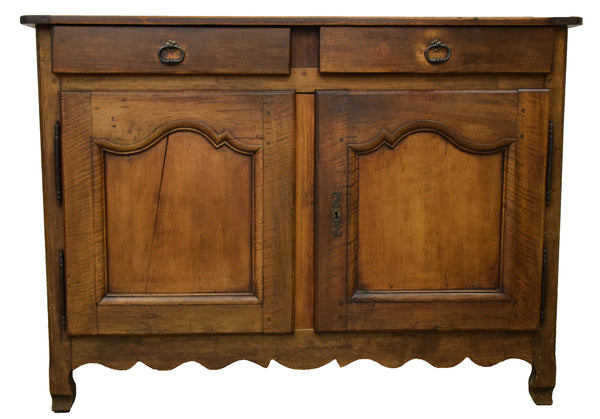 French Walnut Buffet - Tinnin Imports