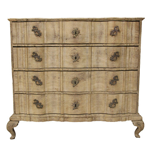 French Serpentine Chest - Tinnin Imports