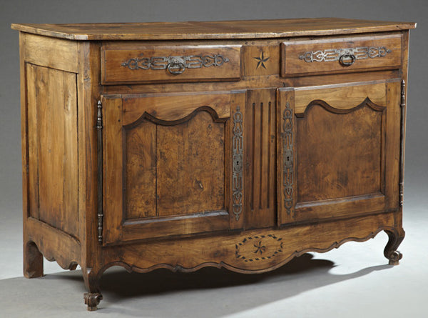 Louis Philippe Walnut Buffet - Tinnin Imports