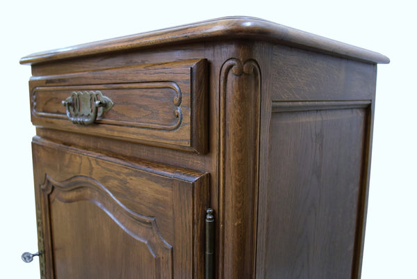 French Louis XV Style Oak Confiturier - Tinnin Imports
