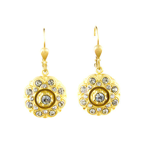 Black Diamond Swarovski Earrings - Tinnin Imports