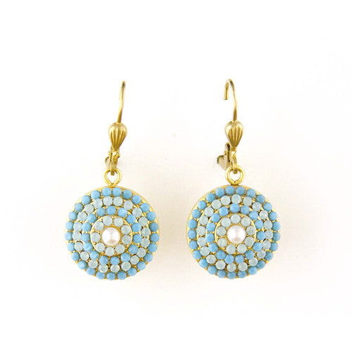 Pacific Opal Earrings - Tinnin Imports