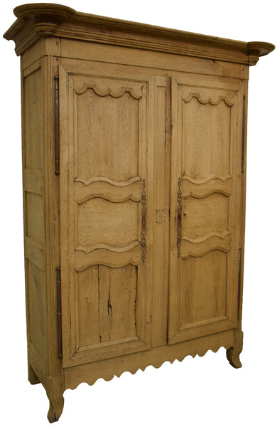 French Louis XV Armoire - Tinnin Imports