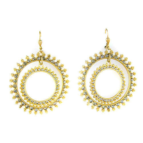 Sunrise Loop Earrings - Tinnin Imports