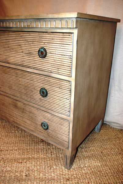 Three Drawer Chest - Tinnin Imports