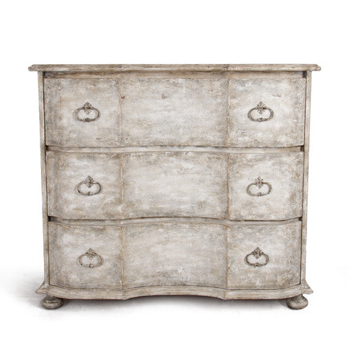 Whitewashed Chest of Drawers - Tinnin Imports