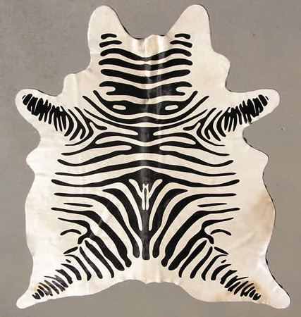 Faux Zebra Hide