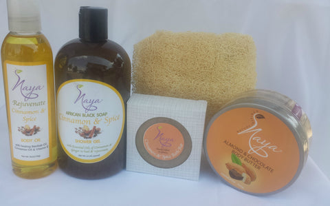 Naya Naturals Cinnamon & Spice Collection