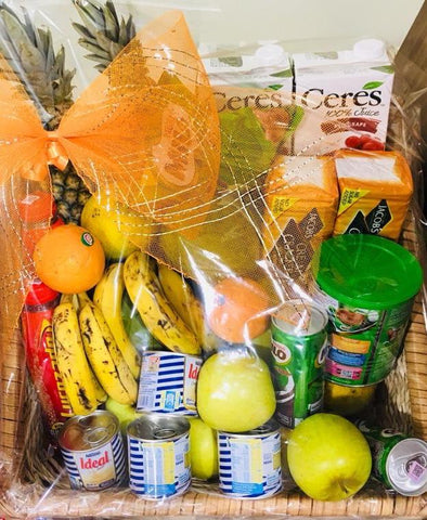 Medium Healthy Care Package - Fruits and Snacks