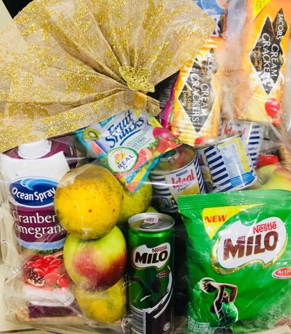 Large Healthy Care Package - Fruits and Snacks