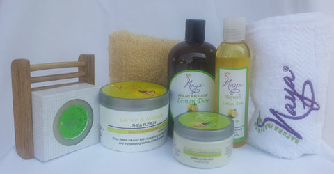 Naya Naturals Lemon Collection