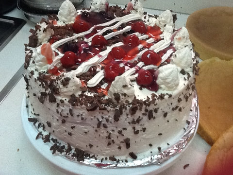 Kareena's Blackforest Cherry Cake
