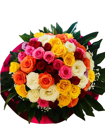 Large Roses Celebration Arrangement