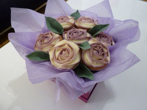 Rose Bouquet Cupcakes (7)