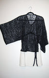 kimono netted top l'une collection full image