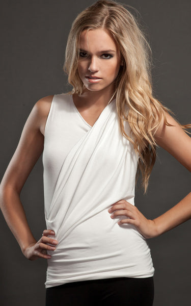 draped top l'une collection by anh volcek