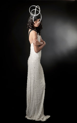 Backless_White_Sequined_Elastic_Gown_L_une_Collection