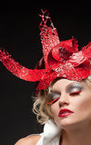 Red_Plastic_Ribbon_Hat_L_une_Collection