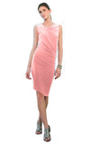 womens single seam jersey dress l'une collection