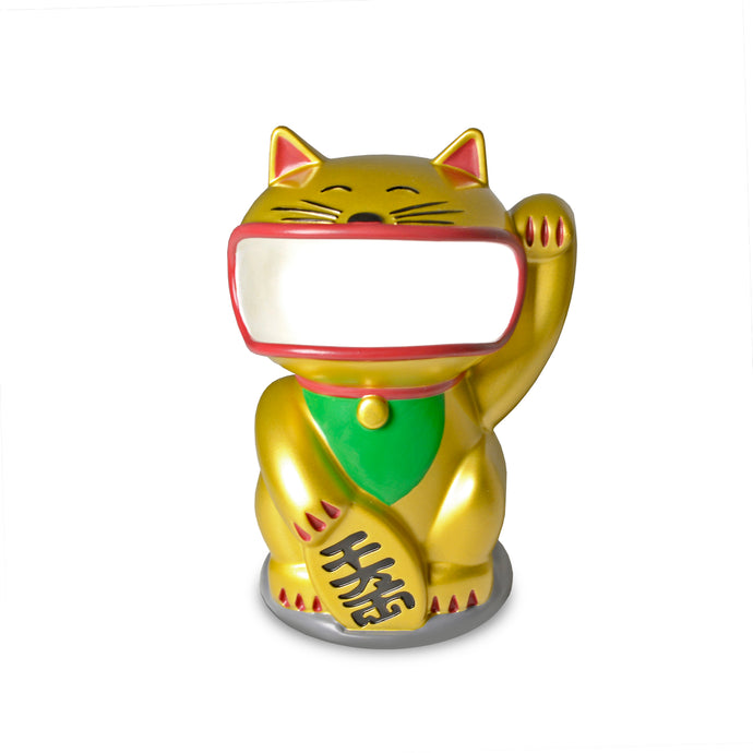Special Holiday Edition Retainer Buddy Lucky Cat