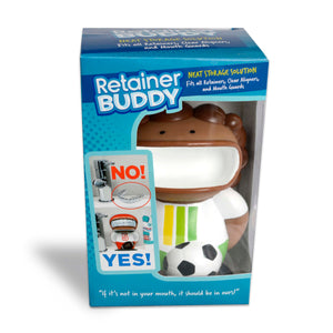 Retainer Buddy Soccer Player - FREE Shipping