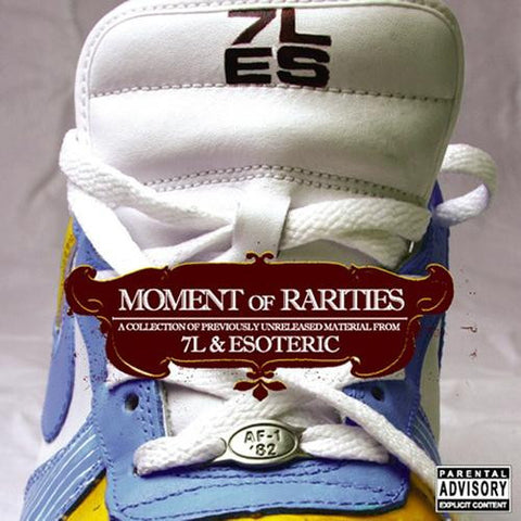 "7L & Esoteric ""Moment of Rarities"" (Audio CD)"