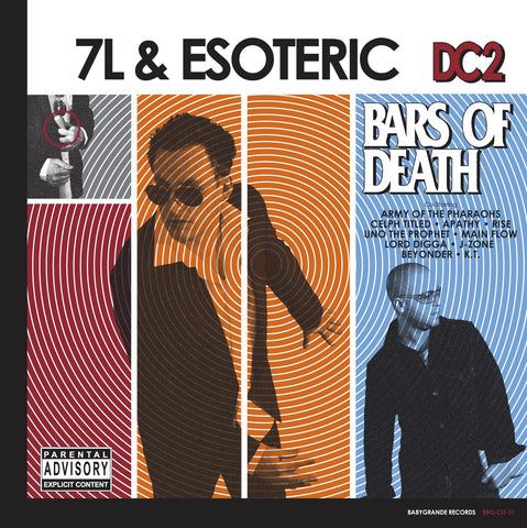 "7L & Esoteric ""DC2: Bars of Death"" (Audio CD)"