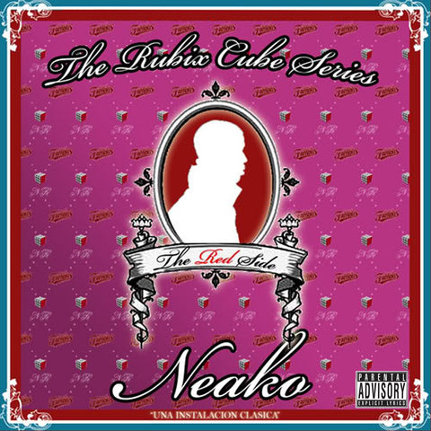"Neako ""The Rubix Cube: Red Edition"" (Vinyl 2XLP)"