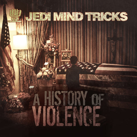 "Jedi Mind Tricks (Vinnie Paz + Stoupe + Jus Allah) ""A History of Violence"" (Red Vinyl 2XLP)"