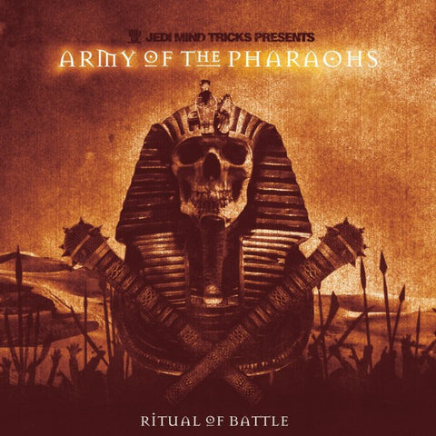 "Jedi Mind Tricks Presents: Army of the Pharaohs - ""Ritual of Battle"" (Orange Vinyl 2XLP)"