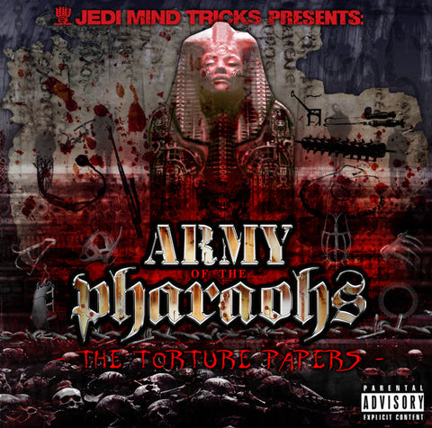 "Jedi Mind Tricks Presents: Army of the Pharaohs ""The Torture Papers"" (Red Vinyl 2XLP)"