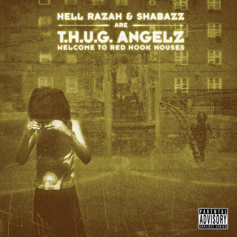 "T.H.U.G. Angelz (Hell Razah + Shabazz) ""Welcome to Red Hook Houses"" (Audio CD)"