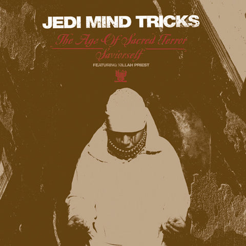 "Jedi Mind Tricks  ""The Age of Sacred Terror / Saviorself"" (feat. Killah Priest) (Red Vinyl 12"")"