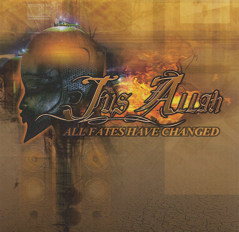 "Jus Allah (of Jedi Mind Tricks)  ""All Fates Have Changed"" (Audio CD)"