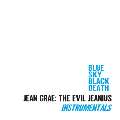 "Blue Sky Black Death ""Jean Grae: The Evil Jeanius Instrumentals"" (Vinyl 2XLP)"