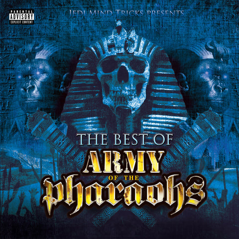 "Jedi Mind Tricks (Vinnie Paz + Stoupe + Jus Allah) ""The Best of Army of the Pharaohs"" (Audio CD)"
