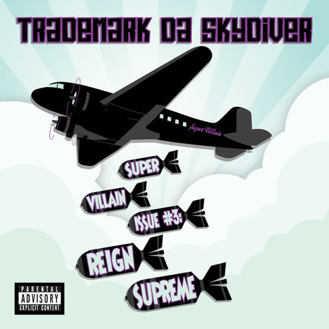 "Trademark Da Skydiver ""Super Villain Issue #3: Reign Supreme"" (Vinyl 2XLP)"
