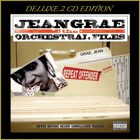 "Jean Grae ""The Orchestral Files"" (Audio 2XCD)"