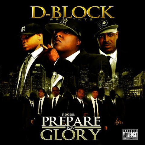 "D-Block Presents ""Poobs: Prepare For Glory"" (Vinyl 2XLP)"