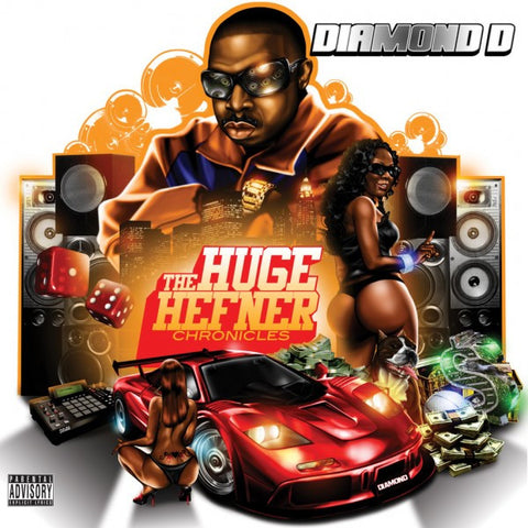 "Diamond D ""The Huge Hefener Chronicles"" (Audio CD)"