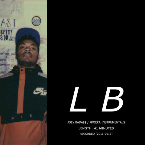 "Lee Bannon: ""Joey Bad$$ / Pro Era Instrumentals"" (Audio CD)"