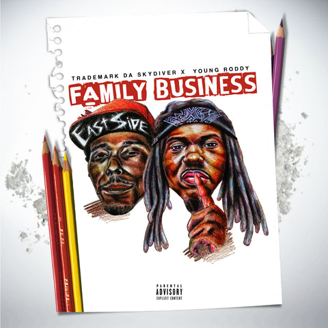 "Trademark Da Skydiver & Young Roddy ""Family Business"" (Audio CD)"