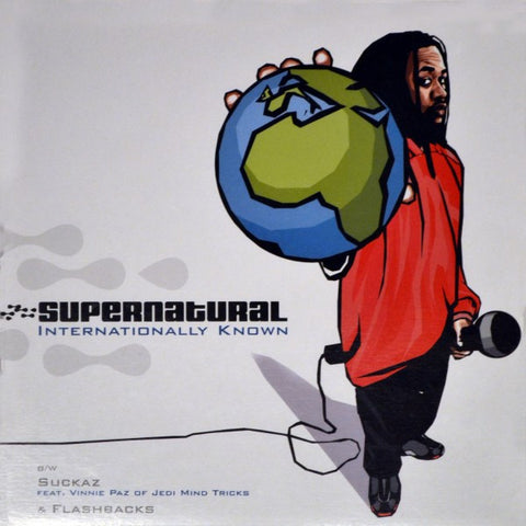 "Supernatural ""Internationally Known / Suckaz"" (feat. Vinnie Paz of Jedi Mind Tricks) (Vinyl 12"")"