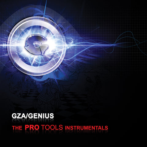 "GZA/Genius (of Wu-Tang Clan) ""The Pro Tools Instrumentals"" (Audio CD)"